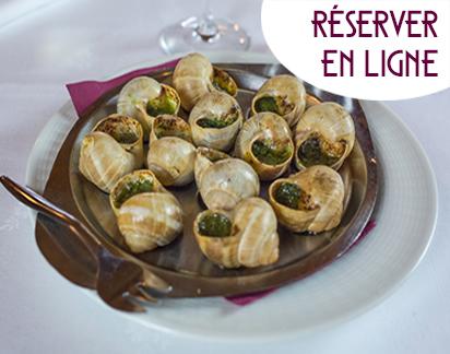 Les escargots de Bourgogne marinés au Chablis